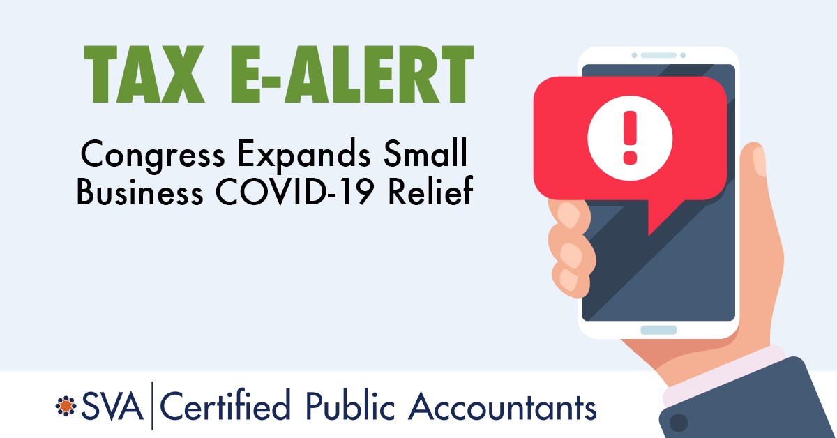 Congress Expands Small Business COVID-19 Relief