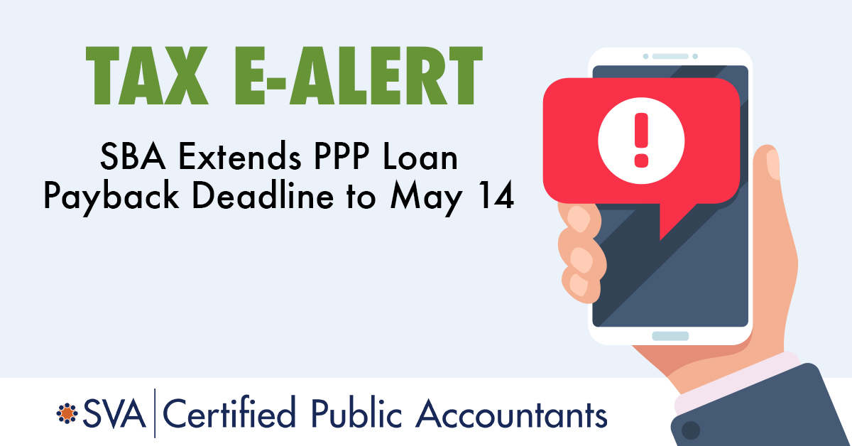 SBA Extends PPP Loan Payback Deadline to May 14