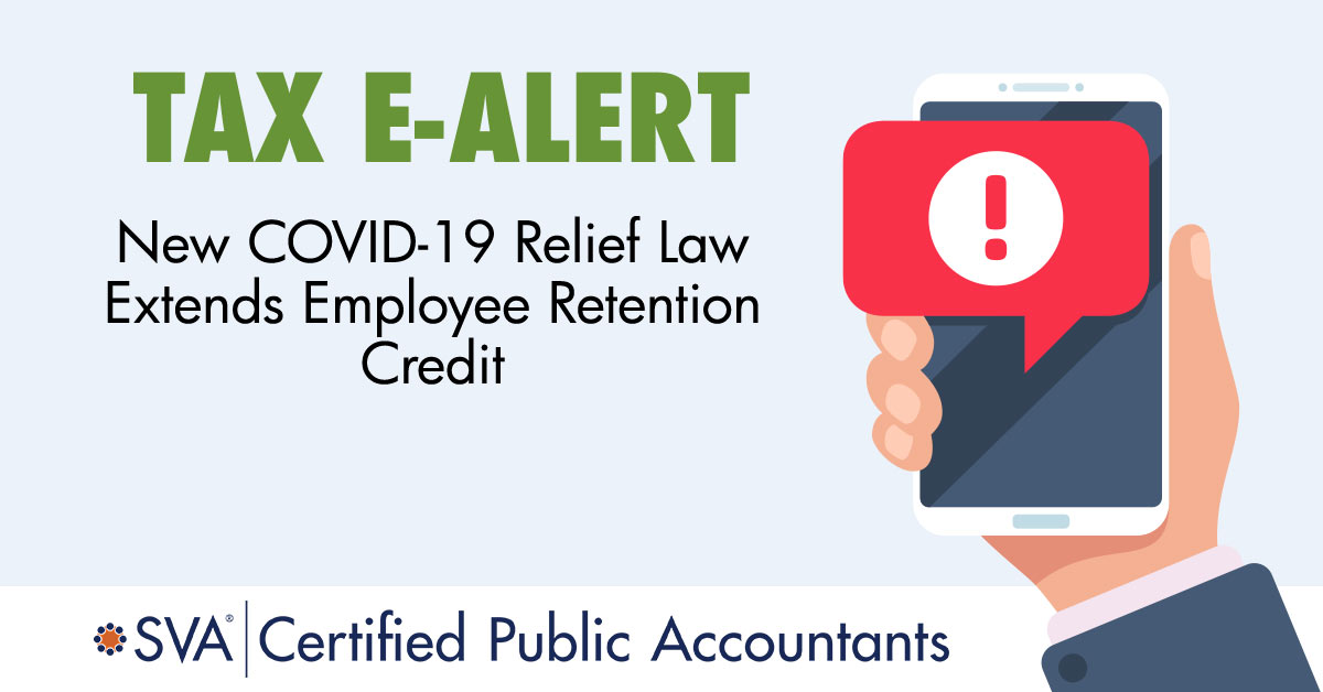 New COVID-19 Relief Law Extends Employee Retention Credit
